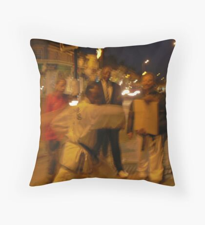 Street wise. Throw Pillow
