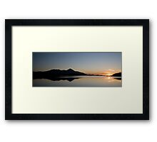 Clew Bay Sunset Framed Print