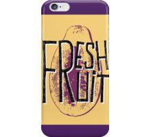 Mango fresh fruit illustration iPhone Case/Skin