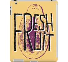 Mango fresh fruit illustration iPad Case/Skin