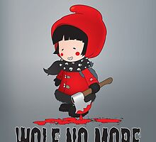 Wolf No More.Little Red Riding Hood by mangulica