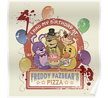Freddy Fazbear's Birthday! (survivor version) Poster