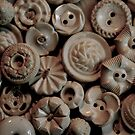 Vintage Buttons by Andrea Barnett