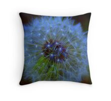 Natures Firework Throw Pillow