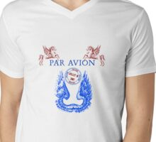 Wings Par Avion Series Mens V-Neck T-Shirt
