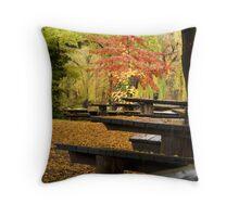Autumn Canopy Throw Pillow