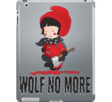 Wolf No More.Little Red Riding Hood iPad Case/Skin
