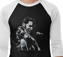 Elvis Presley - The King Is Back Men's Baseball ¾ T-Shirt