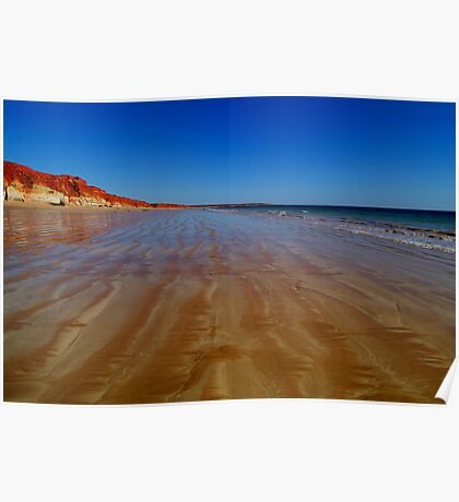Beach at James Price Point Poster