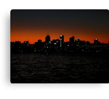 North Sydney (Gotham city?) Canvas Print