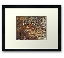 Surface, Ulster County Boulder Framed Print