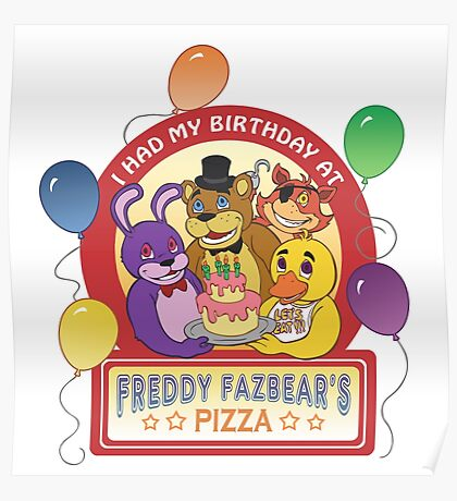 Freddy Fazbear's Birthday!   Poster
