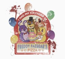 Freddy Fazbear's Birthday! (survivor version) by oriana132
