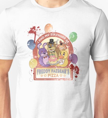 Freddy Fazbear's Birthday! (survivor version) Unisex T-Shirt