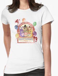 Freddy Fazbear's Birthday! (survivor version) Womens Fitted T-Shirt