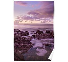 Sunrise at Bar Beach Poster