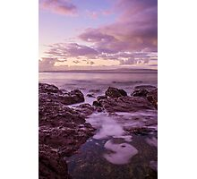 Sunrise at Bar Beach Photographic Print