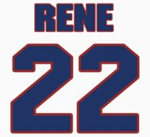 National baseball player Rene Monteagudo jersey 22 by imsport