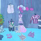 Pink Lingerie by Joan Wild