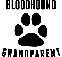 Bloodhound Grandparent by kwg2200