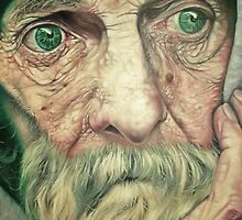 Old Man Bob. by julietsmithart