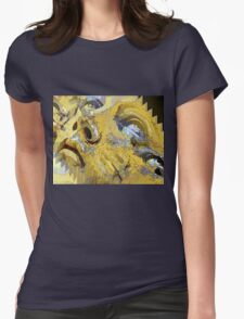 Shattered illusions Womens Fitted T-Shirt