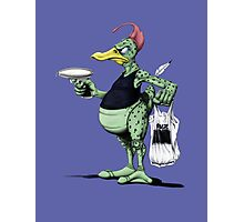 Space Duck Photographic Print