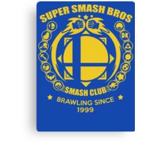 SMASH CLUB  Canvas Print