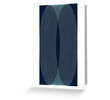 Circles cube Greeting Card