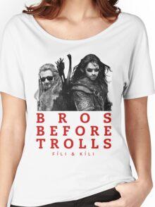 Fili & Kili: Bros Before Trolls Women's Relaxed Fit T-Shirt