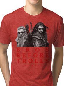 Fili & Kili: Bros Before Trolls Tri-blend T-Shirt