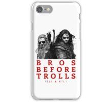 Fili & Kili: Bros Before Trolls iPhone Case/Skin