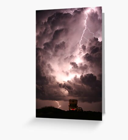 Turbulent Atmosphere Greeting Card