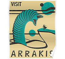 Arrakis Travel Poster Poster