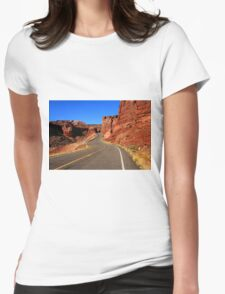 Red Rock Country Womens Fitted T-Shirt