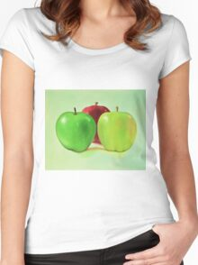 Granny Smith and Friends Women's Fitted Scoop T-Shirt