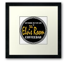 Elvis Room Shirt - Elvis Room - Portsmouth, NH Framed Print
