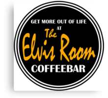 Elvis Room Shirt - Elvis Room - Portsmouth, NH Canvas Print