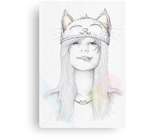 Cat_Girl Canvas Print