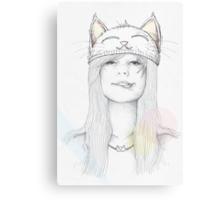 Cat_Girl Canvas Print