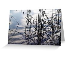 summer in the sky Greeting Card