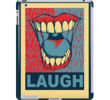 LAUGH iPad Case/Skin