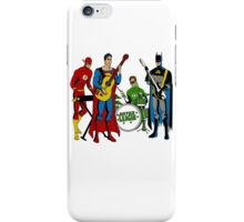 Justice League Rock Band T-Shirt iPhone Case/Skin