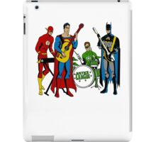 Justice League Rock Band T-Shirt iPad Case/Skin
