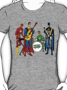 Justice League Rock Band T-Shirt T-Shirt