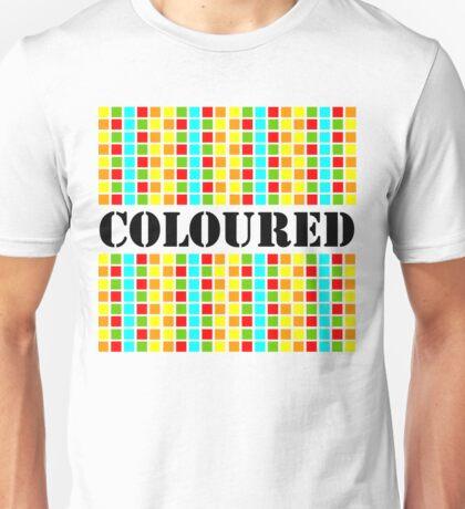 Coloured Unisex T-Shirt