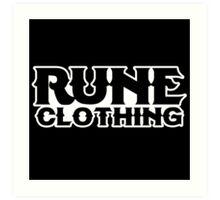 Rune Clothing - Retro Art Print