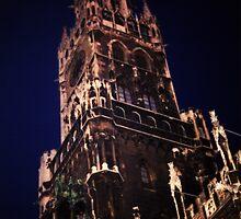 New Town Hall Marienplatz, Munich  by Edmund Edwards