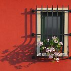 WINDOW AT SUNSET by June Ferrol