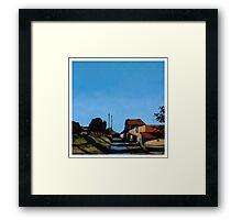 Towards-Saint-Victor Framed Print
